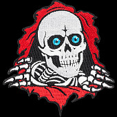 Powell Peralta Ripper  3 inch Patch Single