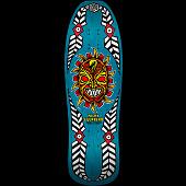 Powell Peralta Nicky Guerrero Mask Skateboard Deck Blue - 10 X 31.75