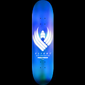 Powell Peralta Flight® Skateboard Deck Glow Blue - Shape 246 - 9.05 x 32.95