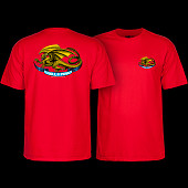 Powell Peralta Oval Dragon Youth T-shirt Red