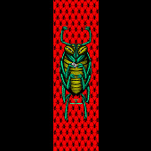 Powell Peralta Grip Tape Sheet 9 x 33 Bug