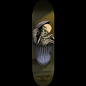Powell Peralta Garbage Can Skelly Skateboard Deck Olive - 8.5 x 32.08