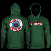 Powell Peralta Supreme Midweight Hooded Sweatshirt - Apple Green