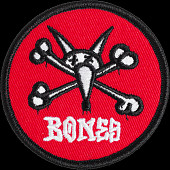 "Powell Peralta Vato Rat Patch 2.5"" Red Single"