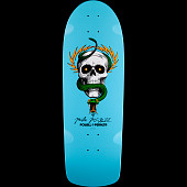 Powell Peralta McGill Skull and Snake Skateboard Deck Light Blue - 10 x 30.125 - Limit one per Customer