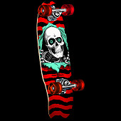 Powell Peralta Micro Mini Ripper Complete Skateboard Assembly - 7.5 x 24