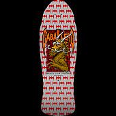 Powell Peralta Pro Steve Caballero Street Blem Skateboard Deck Silver - 9.625 x 29.75