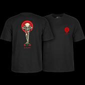 Powell Peralta Tucking Skeleton T-shirt Black