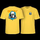 Powell Peralta Ripper T-shirt Yellow