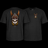 Powell Peralta Andy Anderson Skull T-Shirt - Black