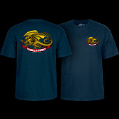 Powell Peralta Oval Dragon Navy T-shirt