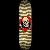 Powell Peralta Ripper Skateboard Blem Deck Olive 245 K21 - 8.75 x 32.95