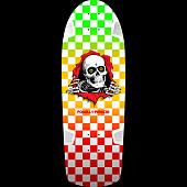 Powell Peralta OG Ripper Skateboard Blem Deck Checkered - 10 x 30