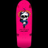 Powell Peralta McGill OG Skull and Snake Blem Skateboard deck Pink - 10 x 30.125