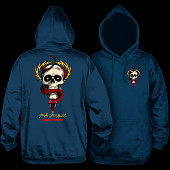 Powell Peralta McGill Skull and Snake Hooded Sweatshirt Navy