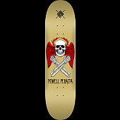 Powell Peralta Halo Bolt Skateboard Deck Gold - Shape 247 - 8 x 31.45