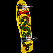 Powell Peralta Cab Chinese Dragon Skateboard Complete Yellow- 10.0  150 sp3