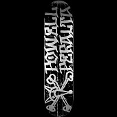 Powell Peralta Vato Rat Skateboard Deck Black - 8 x 31.25