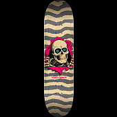 "Powell Peralta Ripper Skateboard Blem Deck Natural Gray K20 - 8.25"" x 31.95"""