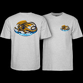 Powell Peralta Oval Dragon Grey T-shirt