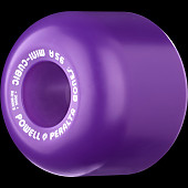 Powell Peralta Mini-Cubic Skateboard Wheels 64mm 95a - Purple (4 pack)
