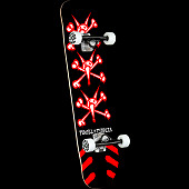 Powell Peralta Vato Rats Black Complete Skateboard - 8.25 x 31.95