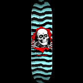 Powell Peralta Ripper Skateboard Deck Pastel Blue 249 K20 - 8.5 x 32.08