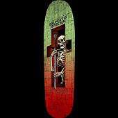 Powell Peralta Funshape Diligatis 3 Skateboard Deck Green/Red - 8.7 x 31.72