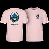 Powell Peralta Welinder Skull T-shirt Light Pink