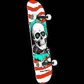 Powell Peralta Ripper One Off Orange Birch Complete Skateboard - 7 x 28