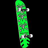 Powell Peralta Vato Rats Green Birch Complete Skateboard - 7 x 28