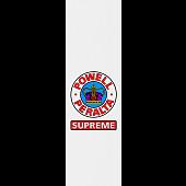Powell Peralta Grip Tape Sheet 9 x 33 Supreme (White)