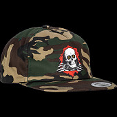 "Powell Peralta Ripper ""2"" Snap Back Cap - Camo"