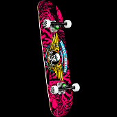 Powell Peralta Winged Ripper Pink Birch Complete Skateboard - 7 x 28