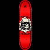 Powell Peralta Ripper Chainz Blem Skateboard Deck Red - 8 x 31.45