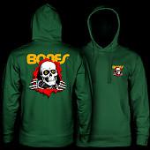 Powell Peralta Ripper Hooded Sweatshirt Mid Weight Alpine Green