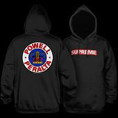 Powell Peralta Supreme 2 Hooded Sweatshirt Black