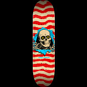 Powell Peralta Ripper Skateboard Deck Natural Red - Shape 244 - 8.5 x 32.08