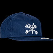 Powell Peralta Vato Rat Snap Back Cap - Navy