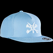 Powell Peralta Vato Rat Snapback Cap Powder Blue