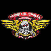 "Powell Peralta Winged Ripper Patch 5"" Single"