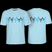 Powell Peralta Rat Band YOUTH T-shirt - Powder Blue