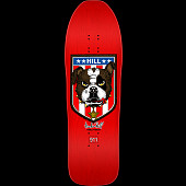 Powell Peralta Frankie Hill Bulldog Skateboard Blem Deck Red - 10 x 31.5