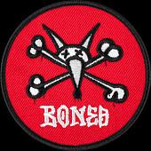 "Powell Peralta Vato Rat Patch 3.5""  Red Single"
