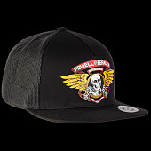 Powell Peralta Ripper Trucker Cap Black