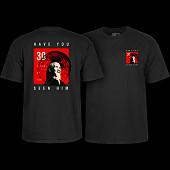 Powell Peralta Animal Chin 30 yrs. Black T-shirt