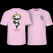 Powell Peralta Mike McGill Skull & Snake T-shirt - Light Pink
