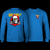 Powell Peralta Ripper L/S T-shirt - Royal Blue