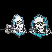 Powell Peralta Ripper Earrings Blue