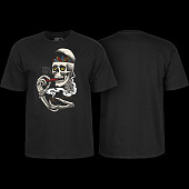 Powell Peralta Curb Skelly T-shirt Black